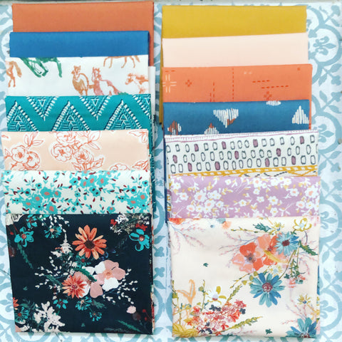 {New Arrival} Art Gallery Spirited Fat Quarter Bundles x 14 Pieces