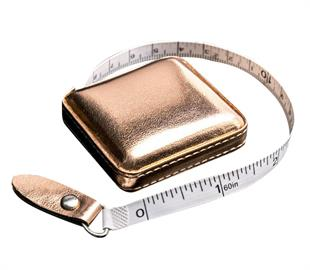 Rose Gold Retractable Tape Measure