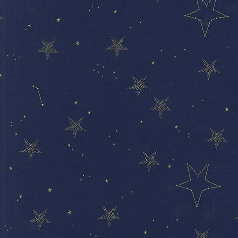 Sarah Jane Magic Metallic Lucky Stars Navy