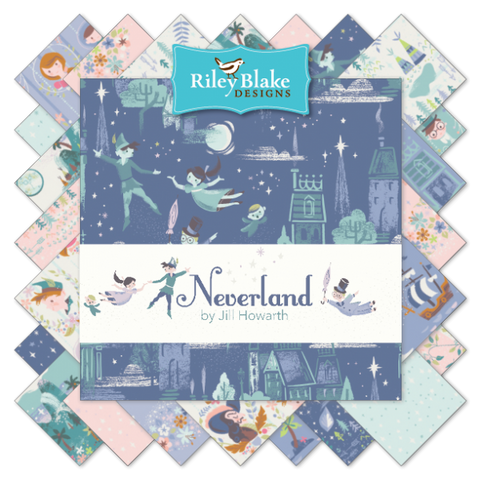 Riley Blake Neverland Fat Quarter Bundle x 18 Fat Quarters