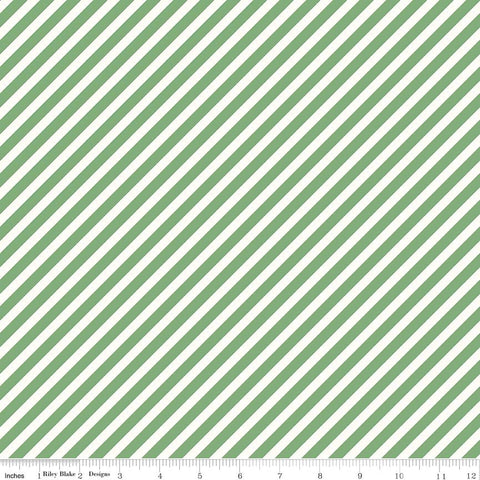 Riley Blake On Trend Stripes Mint