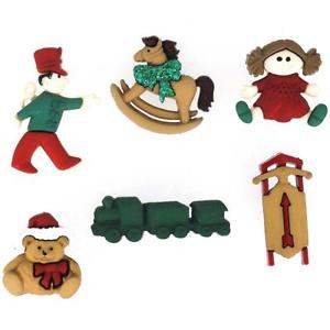 Dress it up Buttons Christmas Toys