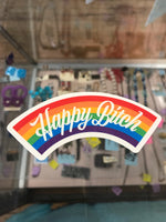 Happy Bitch sticker