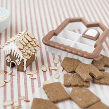 Gingerbread Tiny House Village Gift Box