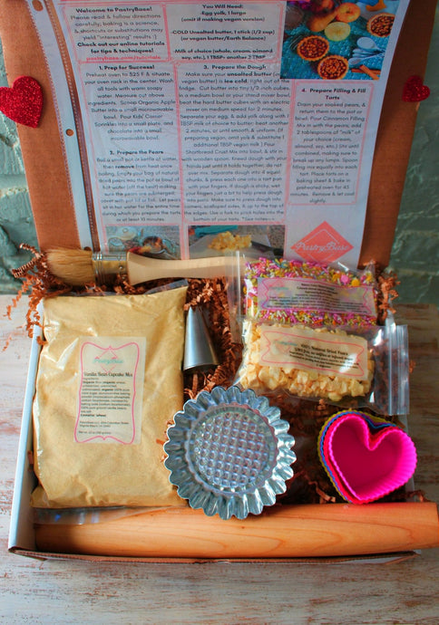 3 Month Baking Box Subscription: Monthly Payment of