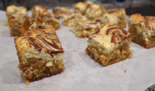 "Cheesecake ""Nutella"" Swirl Bars & Vegan ""Back to School"" Bark!                                                                                                                 Free Shipping!"