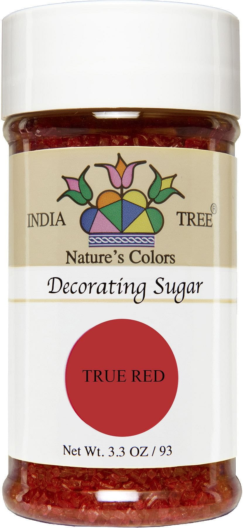 Nature's Colors Decorating Sugars, True Red
