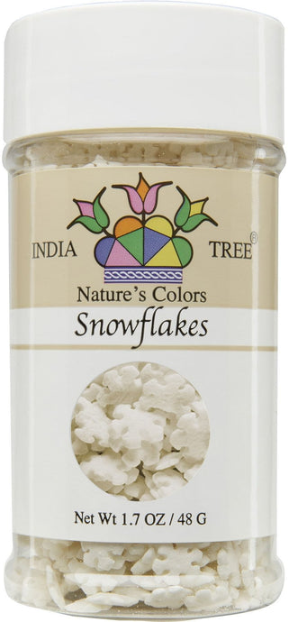 Nature's Colors Snowflake Sprinkles