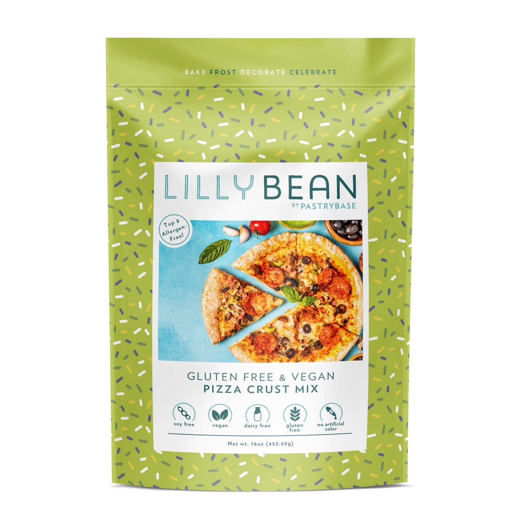 LillyBean Pizza Crust Mix (Vegan & GF!)