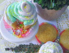 Rainbow Sprinkle Surprise Cupcakes Baking Box! Delivery Included