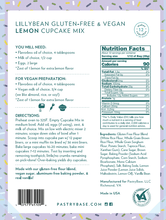 LillyBean Lemon Cupcake Mix (Vegan & GF!)