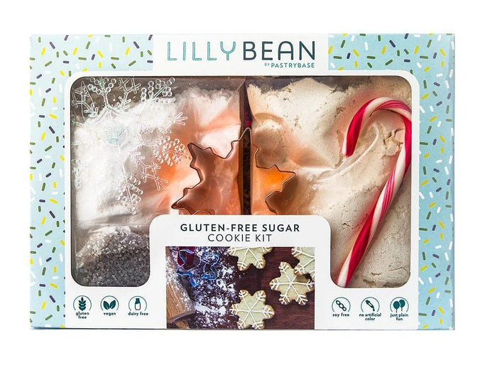 Gluten-Free Snowflake Sugar Cookie Baking Kit (Vegan!)