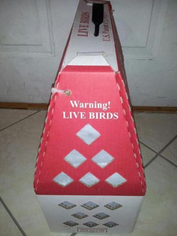 Canary Bird Shipping Box For Post Office - 1 box