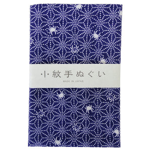 "Japanese Traditional Towel """"Tenugui"""" Small PatternSpider"