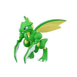 Takaratomy Official Pokemon X and Y MC-054 Scyther Action Figure
