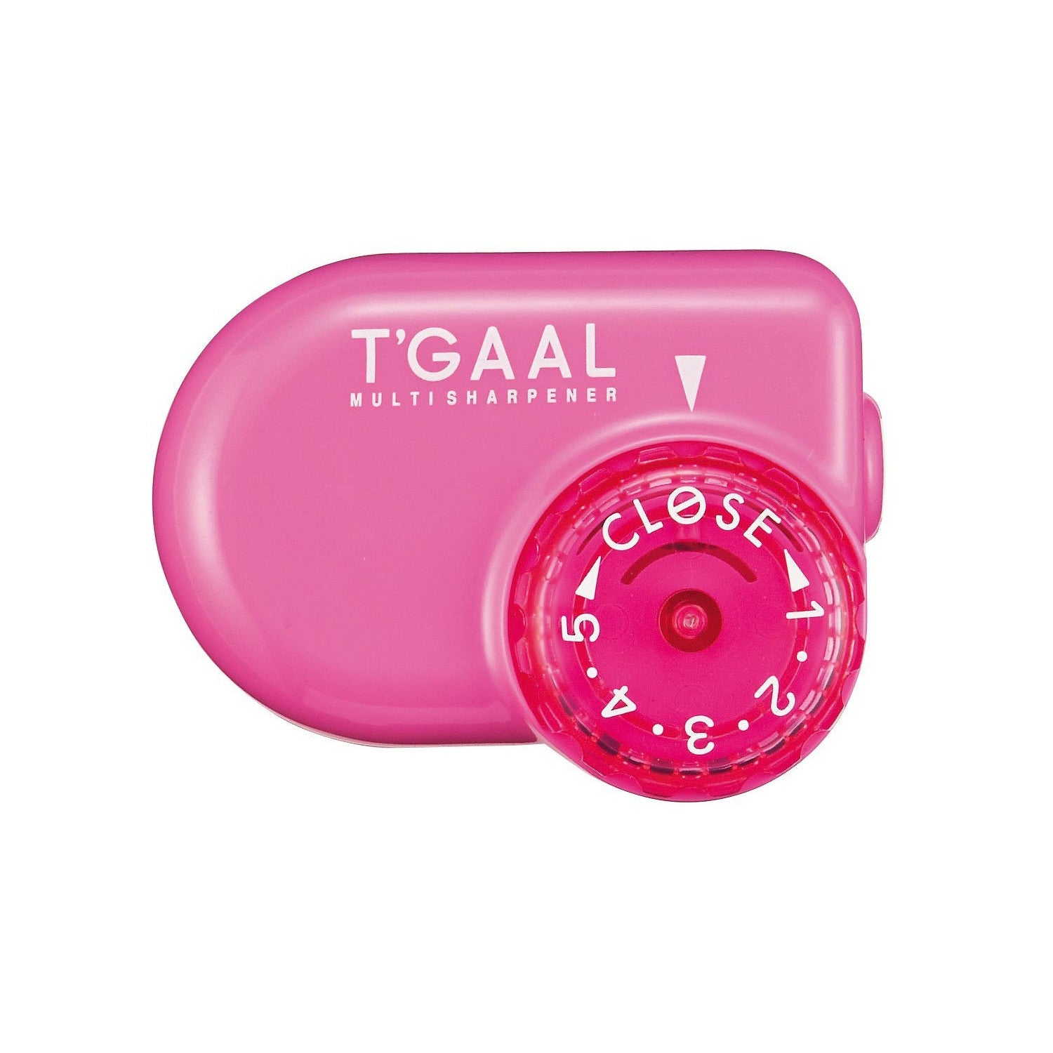 Kutsuwa STAD Angle Adjustable Pencil Sharpener T'GAAL Pink (RS017PK)
