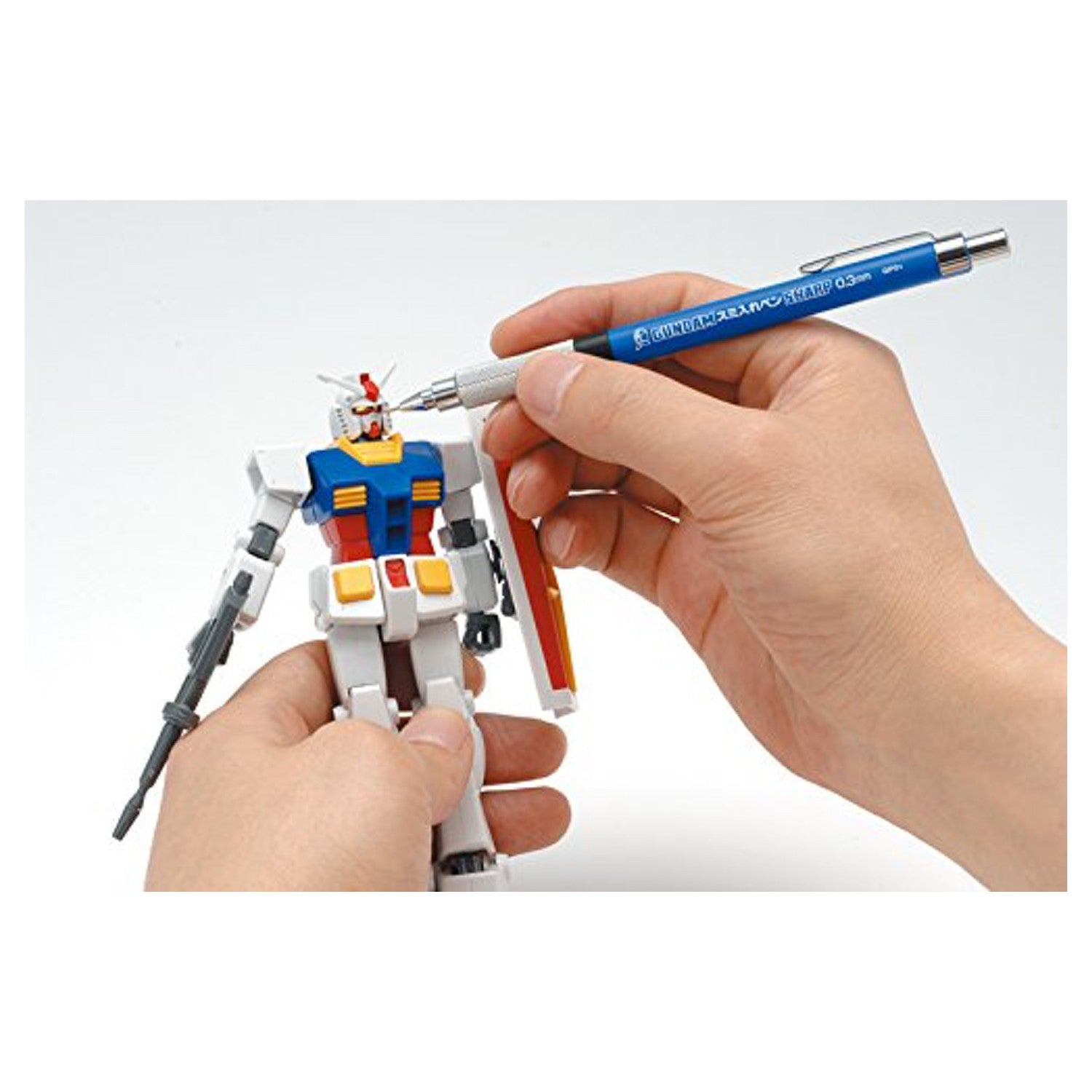 GSI Creos Gundam Marker Black Liner with Mechanical Pencil Sharp 0.3mm