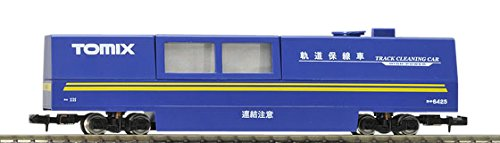 TOMIX N gauge 6425 multi-rail cleaning car (blue)
