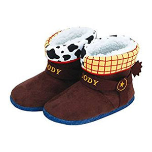 Japan slippers [ Toy Story of the room wear slippers ] Boots Woody Kids Brown 280 952