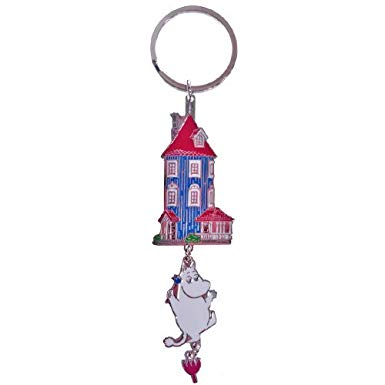 Moomin key ring (Moomin House) (The package and the manual are written in Japanese)