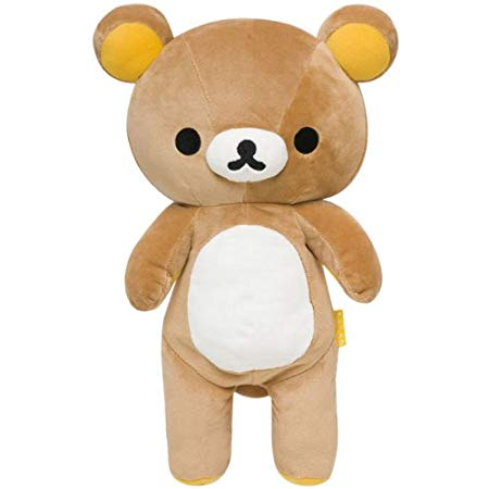 "San-X Rilakkuma Plush 15.5"" w/ secret pocket (MD88301)"