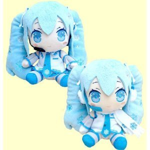 2010 & 2011ver Hatsune Miku Miku stuffed animals. Entire set of 2