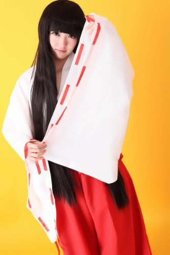 About 160-165 Cosplay Costume Size M costume classic! Inuyasha! Miko [empty edge Corps]