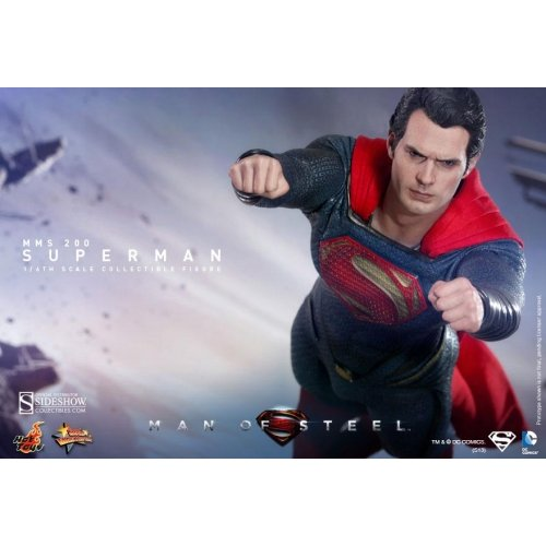 Hot Toys Man of Steel: Superman Movie Masterpiece Sixth Scale Figure by