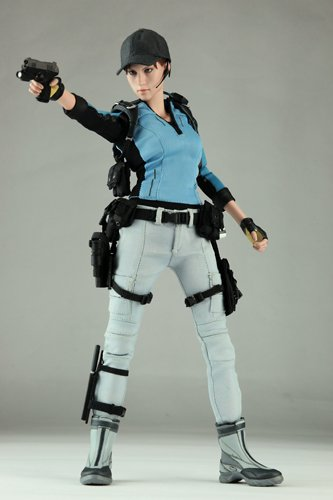 Hot Toys Resident Evil 5 Hot Toys Video Game Masterpiece 1 6 Scale Collectible Figure Jill Valentine B S A A Outfit
