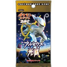 Pokemon card game expansion pack DPt Arceus Kourin [Single Pack]