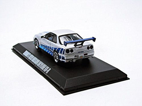 Collectibles 783 86208 1:43 Scale 1999 Nissan Skyline GT-R 2 Fast 2 Furious Model Car