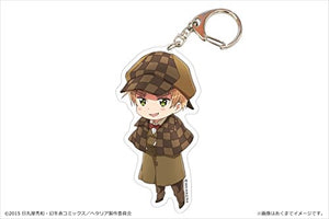 In hetalia The World Twinkle UK acrylic key ring