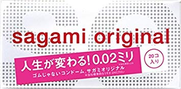 Sagami Original | Condoms | 002 0.02mm 20pc