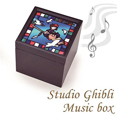 Studio Ghibli Stained Glass Style Music Box (Kiki's Delivery Service)