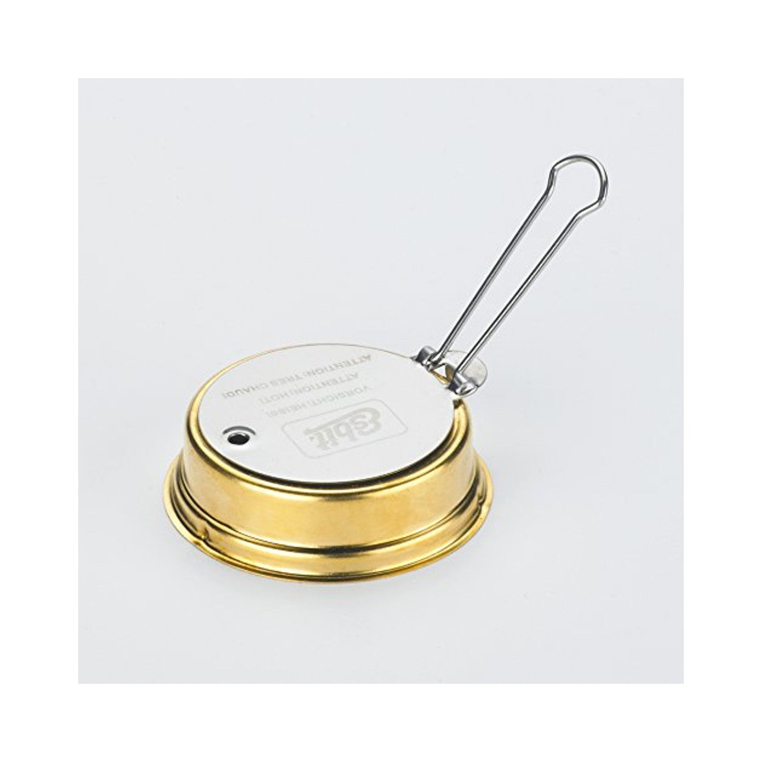 Esbit  Lightweight Trekking Cook Set with Brass Alcohol Burner Stove and 2 Anodized Aluminum Pots