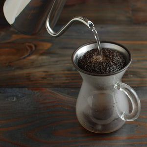 KINTO coffee for stainless steel filter