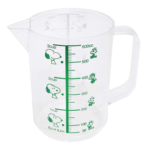 OSK Snoopy measuring cup (large) scale capacity 600ml
