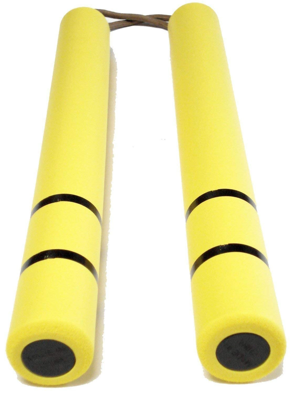 Dragon Bruce Lee Game of Death yellow yellow rubber nunchaku