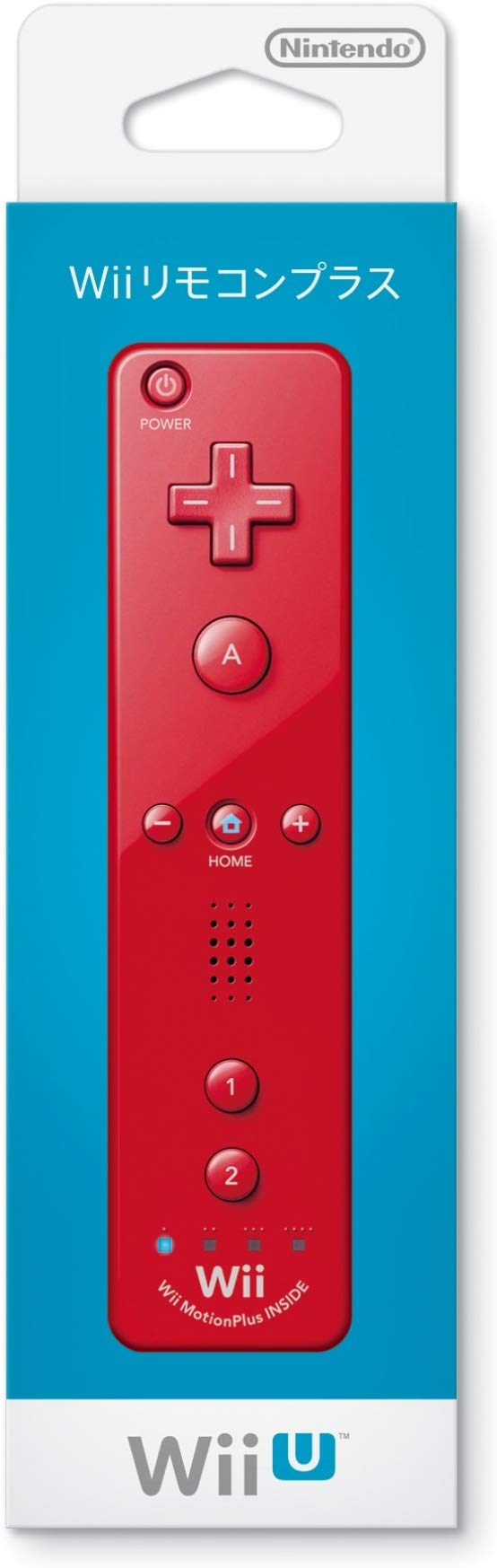 Nintendo Wii - Remote Plus  (Red)