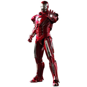 Hot Toys 1:6 Scale Iron Man MK33 Centurion Figure (Silver)