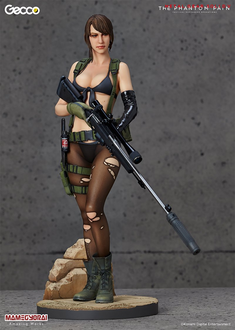 METAL GEAR SOLID V: THE PHANTOM PAIN Quiet 1/6 Scale ABS & PVC Painted FigureGECCO