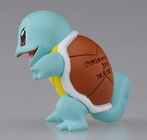"Takaratomy Official Pokemon X and Y MC-004 ~ 1.5"" Squirtle/Zenigame Action Figure"