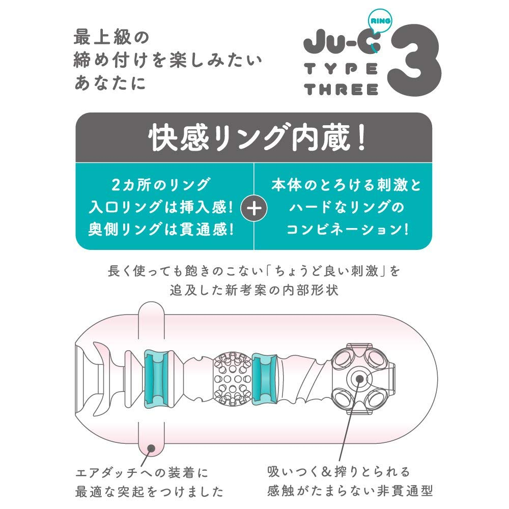 Japan Toy G PROJECT Ju-C [Juicy] 3 ring