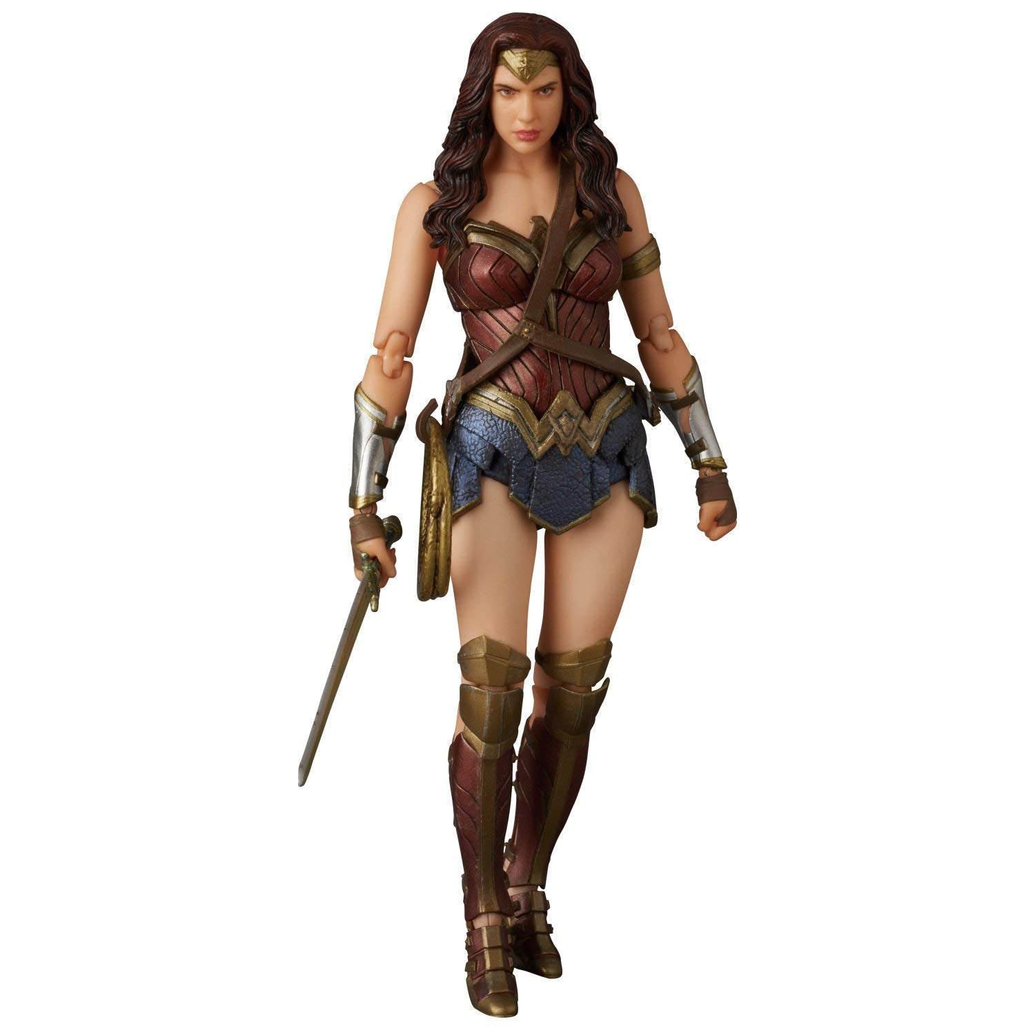 Batman v Superman Dawn of Justice MAF EX Actionfigur Wonder Woman 15 cm