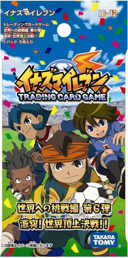 Inazuma Eleven IE-12 TCG Extra pack vol.6 (24pack x 5 cards)