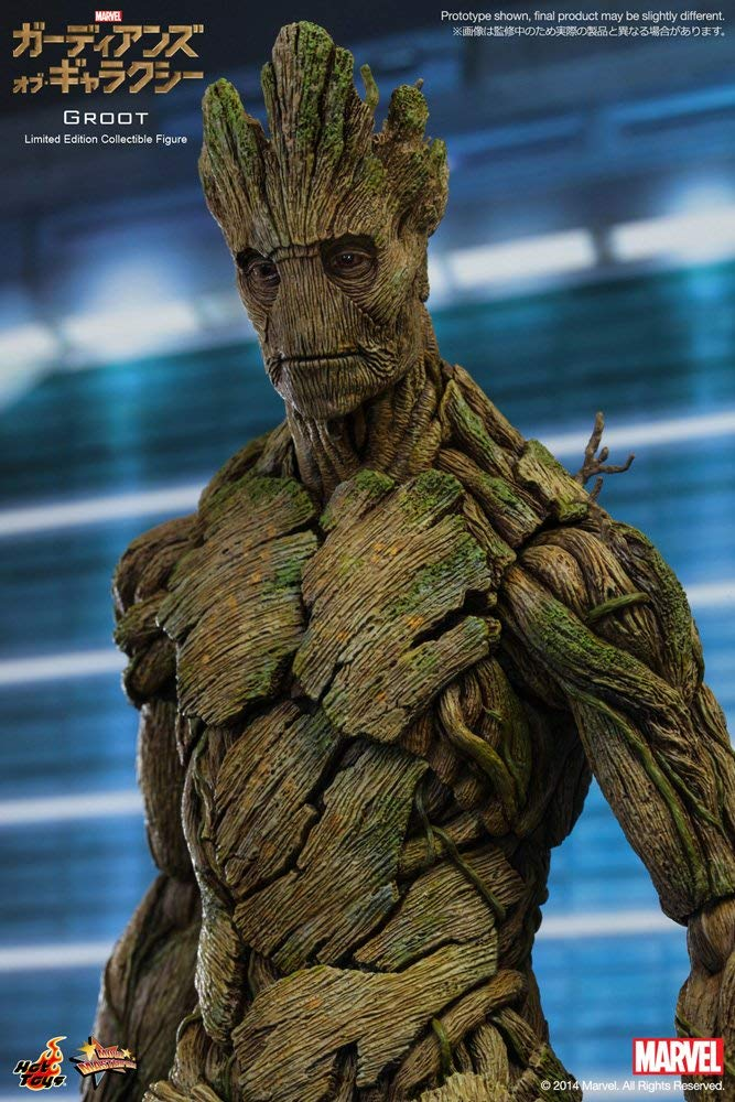 Guardians of the Galaxy Groot Movie Masterpiece Series Sixth Scale Figure