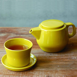 COULEUR tea for one yellow