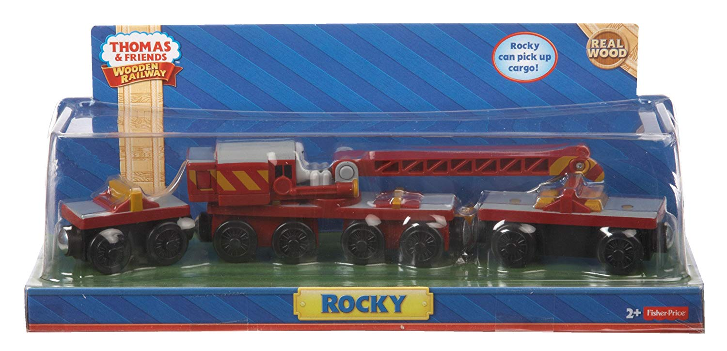 Fisher-Price Thomas the Train Wooden Railway Rocky by Fisher-Price