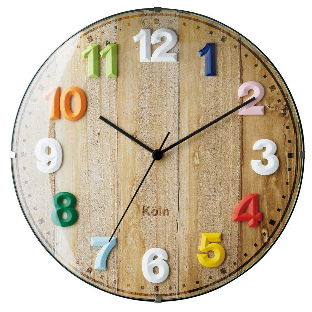 Inter form radio wall clock VOYAGE (INTERFORM INC.) - Voyage - MX mix color CL-7975MX
