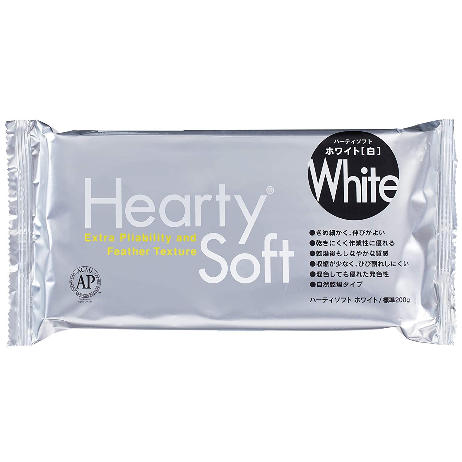 Padico Hearty soft clay 200g [white]  by Pajiko